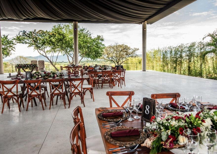 Jardín Piedra Alta: un majestuoso lugar para celebrar tu gran día con amplias áreas verdes