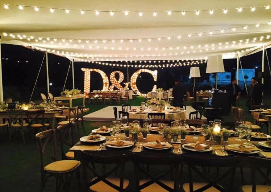 Alondra Diseños de Eventos: 12 años materializando bodas extraordinarias