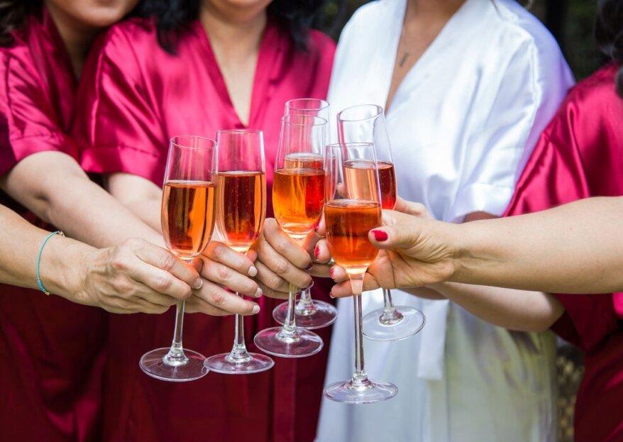 Barra premium y carritos de shots en tu boda con Mixer Bar