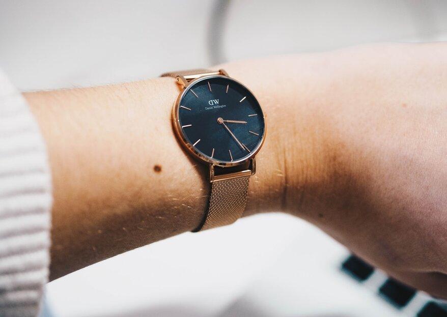 Los relojes para novia que prometen darte un look ultra chic en tu boda