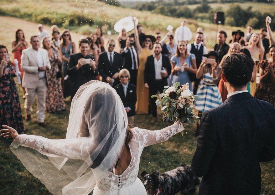 5 errores comunes de los invitados de boda ¡Evítalos!