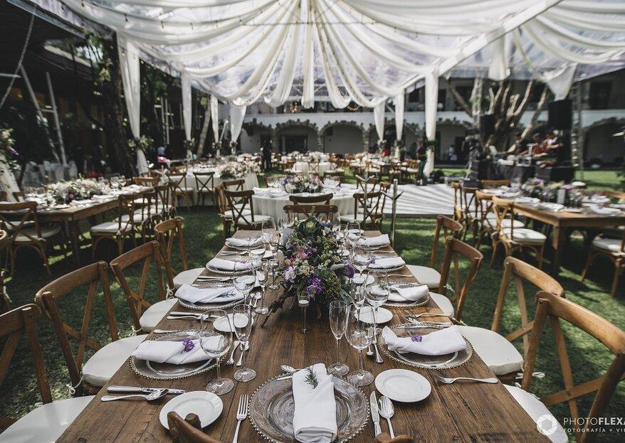Lugares memorables para celebrar tu boda, ¿cuál es tu favorito?