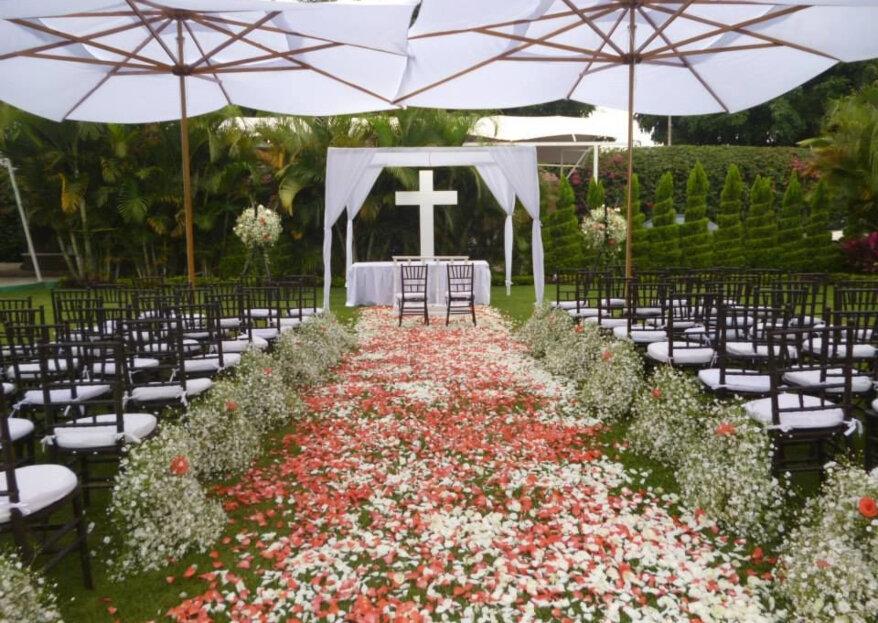3 días de magia para su boda de ensueño en Jardín Paraíso del Lago