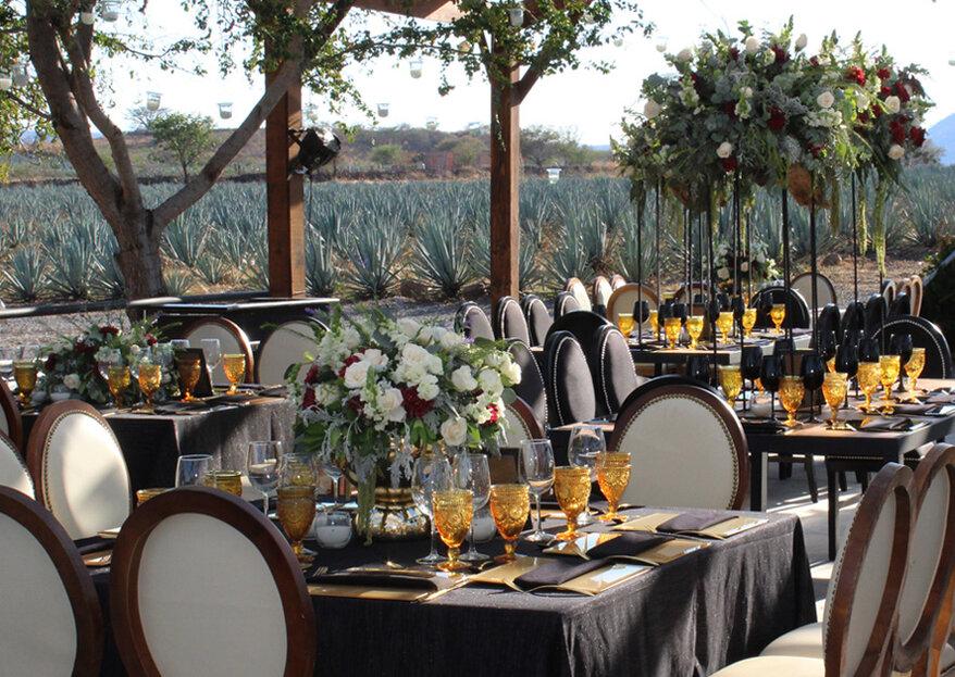 Arquitectura de Eventos: la producción integral de tu boda con un estilo exquisito