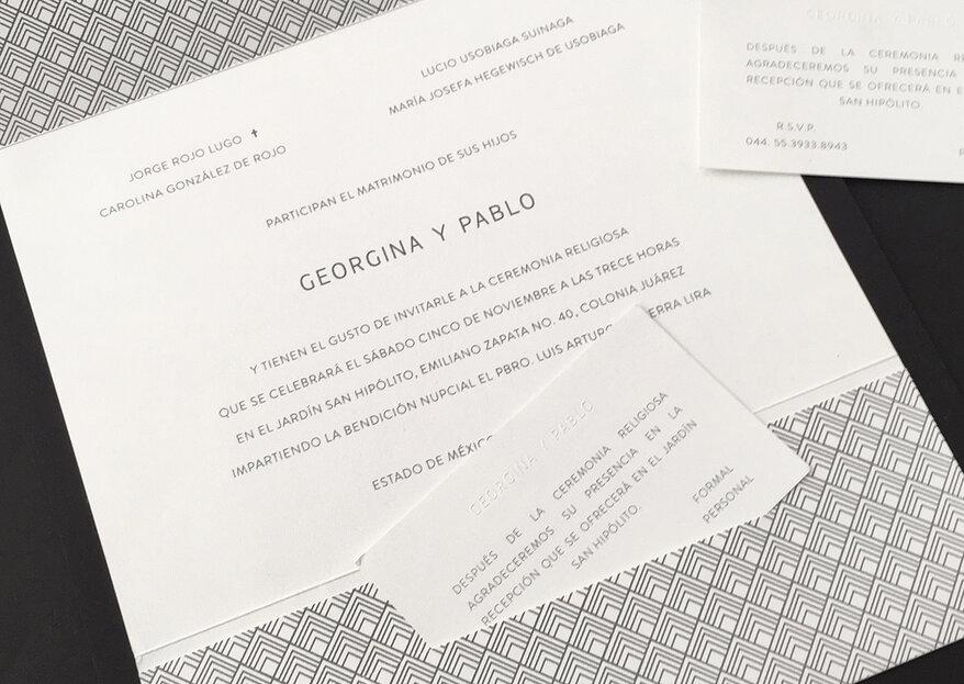 Tinta de Papel: invitaciones para bodas con un estilo diferente y una calidad única