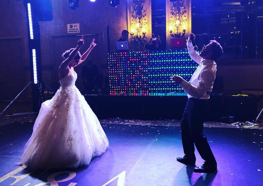 Conecta a través de la música de tu boda con COS DJs