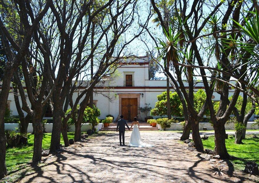 Una boda histórica en Hacienda Amazcala