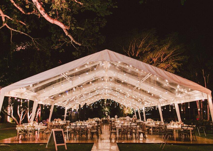 Cómo iluminar tu boda con las ideas más originales que te dan los expertos