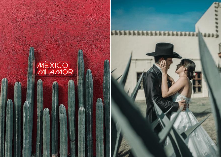 Boda mexicana: Las mejores ideas y consejos para crear 100% bodas mexicanas