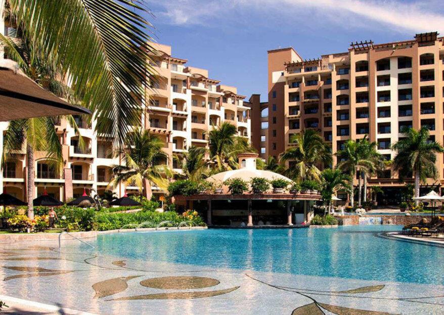 Celebra una boda destino súper exclusiva en Villa La Estancia Beach Resort & Spa Riviera Nayarit