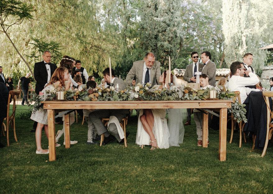Tips para la mesa de novios: quién puede sentarse con ellos