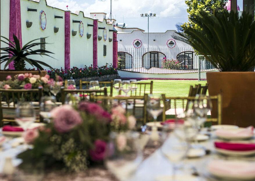 Cásate en un escenario mágico: 4 haciendas para una boda inigualable