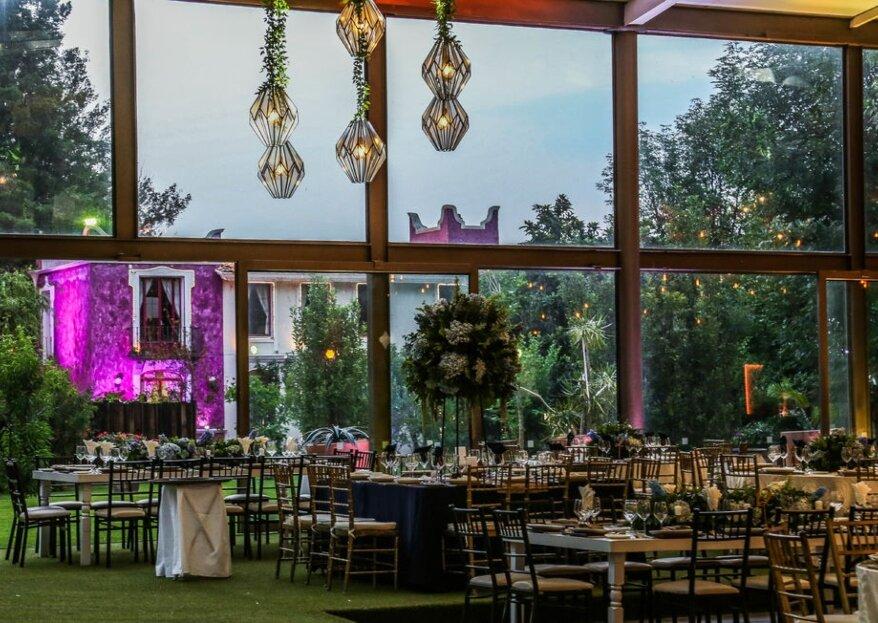 Hacienda San José Actipan: un escenario colonial con diseño vanguardista para una boda de ensueño