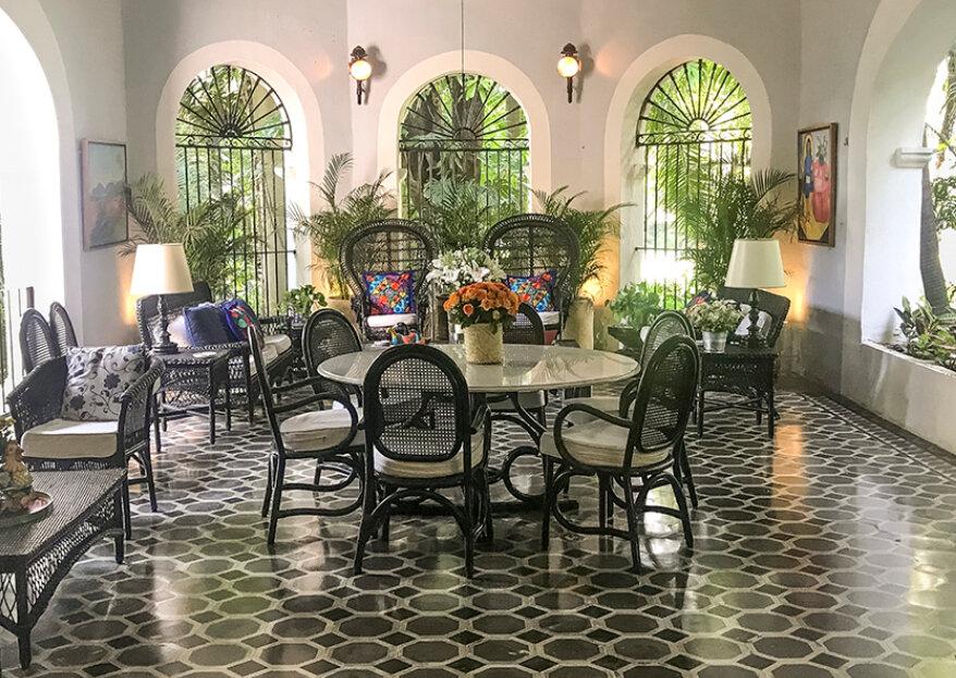 Gran Hacienda las Gracias: un espacio lleno de historia para una boda única