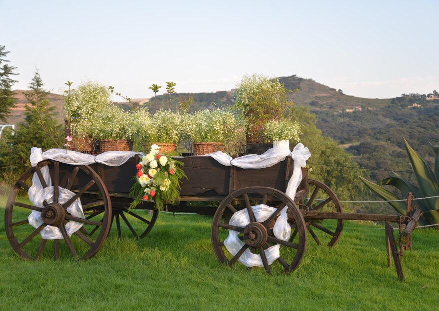 Jardín y Salón Santa Esmeralda: el escenario ideal para apostar por la decoración natural