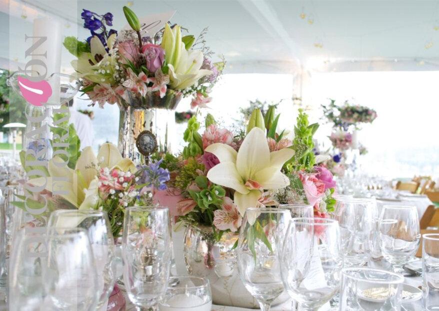 Decoración Floral y su manera de producir escenarios espectaculares