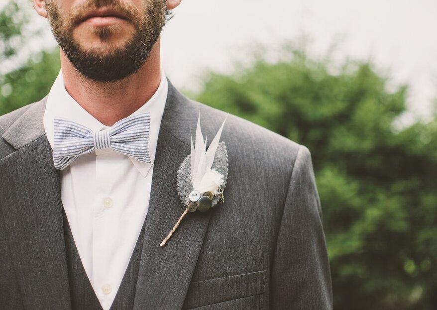 Cómo deben vestir los invitados hombres en una boda en el jardín