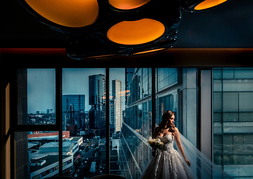 Déjate seducir por las asombrosas fotografías de boda de Yamil Memory Artist