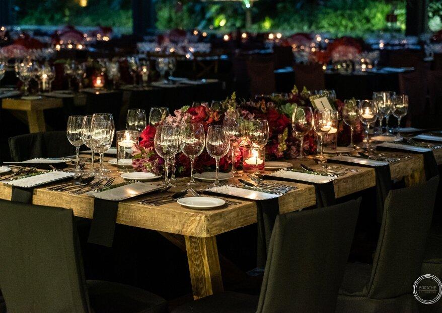 Brioche Banquetes te ofrece innovación para un matrimonio de primera