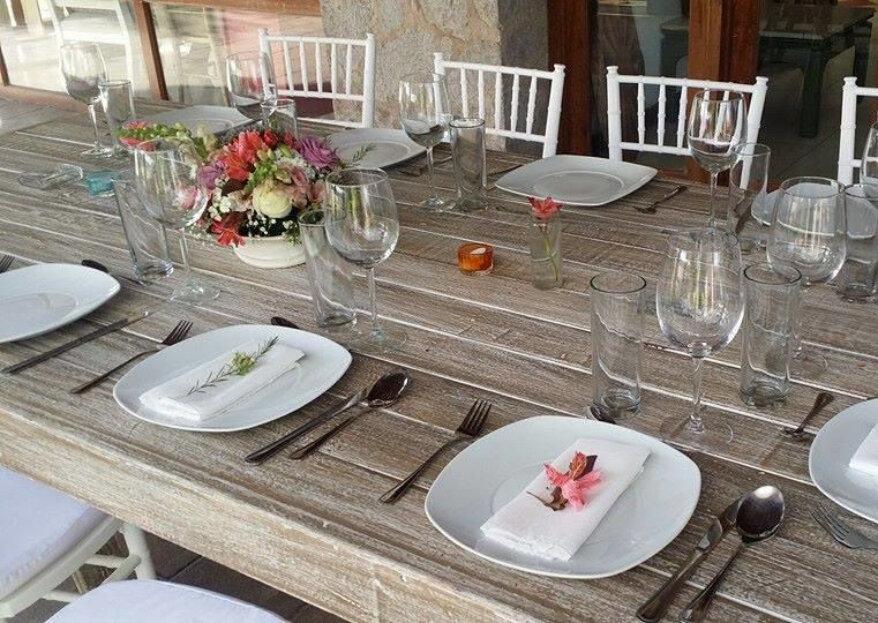 Tu Cheff Eventos: la sencillez y la elegancia también en tu banquete