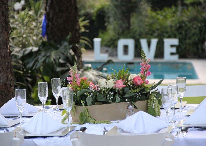 Cuatro lugares diferentes para celebrar una boda según tu estilo: ¡conócelos!