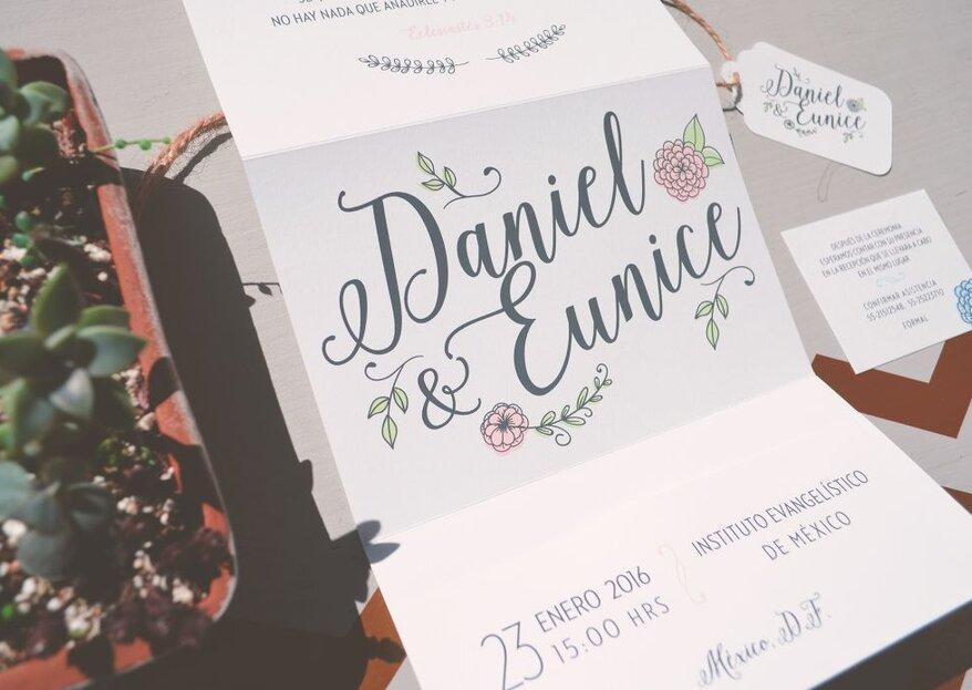 Tipografía para invitaciones de boda: ¿Qué estilo va mejor con tu gran día?