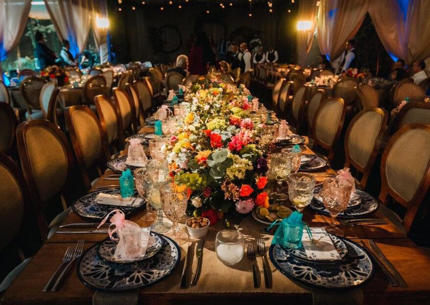 Almendra Wedding & Event Planner: creatividad asegurada en la decoración de tu boda