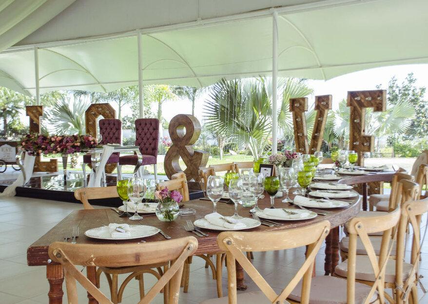 Nautilus Jardín de Eventos: un toque romántico y moderno para tu boda