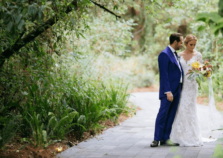 Nuestro amor estaba escrito en las nubes: La boda de Andrés y Paoly
