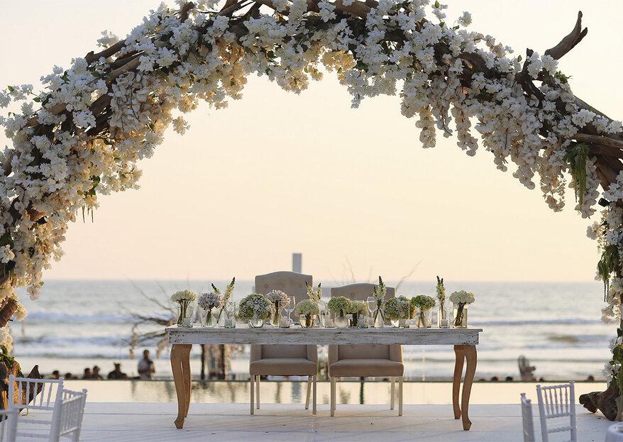 Cómo elegir la decoración de tu boda: 5 tips para acertar y triunfar