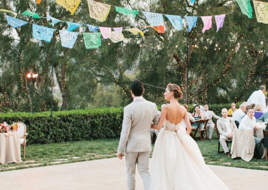 Papel picado para boda: Las mejores ideas para una ceremonia 100% mexicana