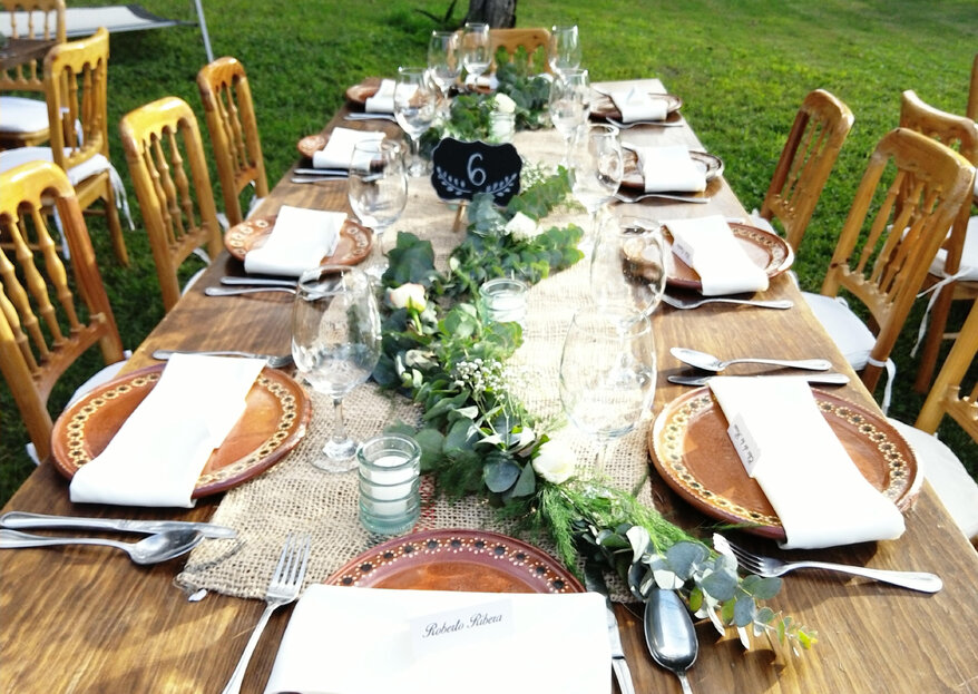 Banquetes ByO: comida deliciosa, montaje espectacular y servicio excepcional