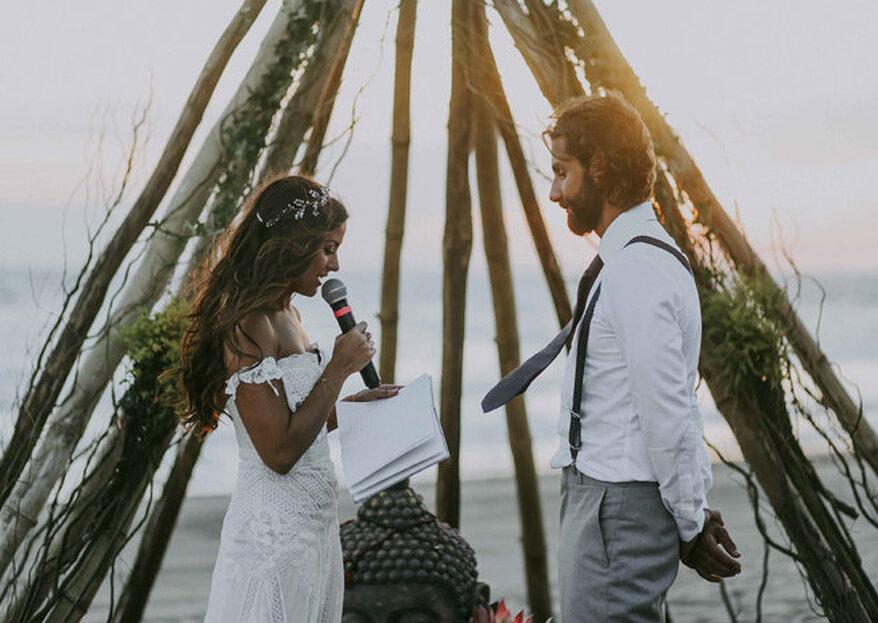 Cómo decorar una boda hippie. 5 ideas originales