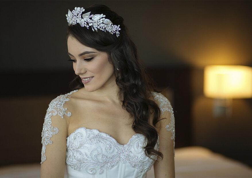Cómo elegir el peinado de novia: 5 pasos sencillos pero infalibles