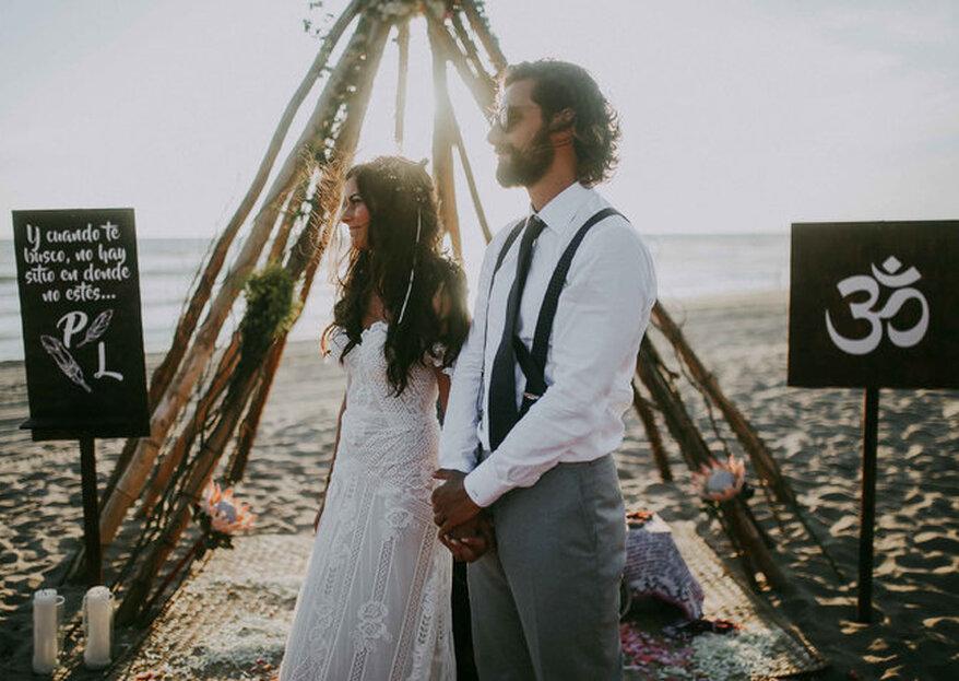 Bodas en la Playa: Todo lo que necesitas para casarte en la playa