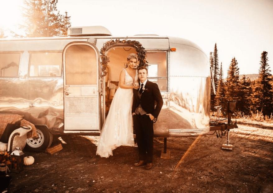 Beauty trucks para novias: la solución de belleza sobre ruedas para tu boda