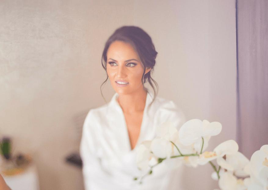 Elige un maquillaje de novia ¡que nunca pase de moda!