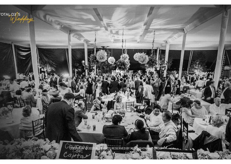 Total Dj's Weddings: un espectáculo musical y visual en tu boda