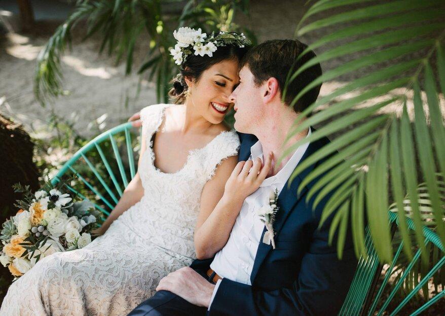 8 razones que te convencerán de tener una boda pequeña e íntima