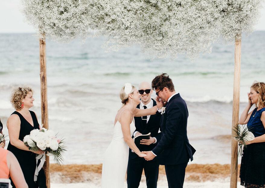 Cómo organizar una boda civil ¡5 consejos clave!