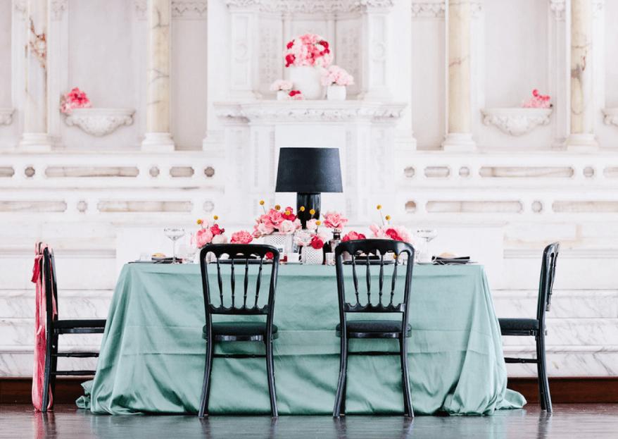El color menta, un tono que necesitas en tu boda