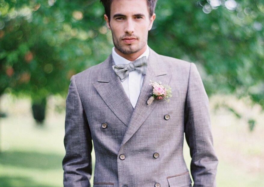 Tendencias para el look de novio: los tips para acertar en tu gran día