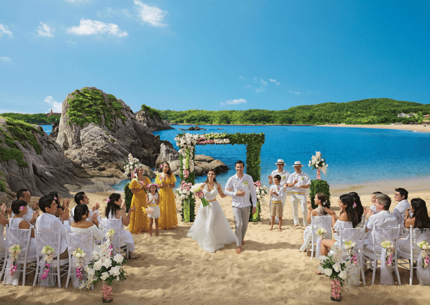 Tu boda en un paraíso terrenal: Dreams Huatulco Resort & Spa