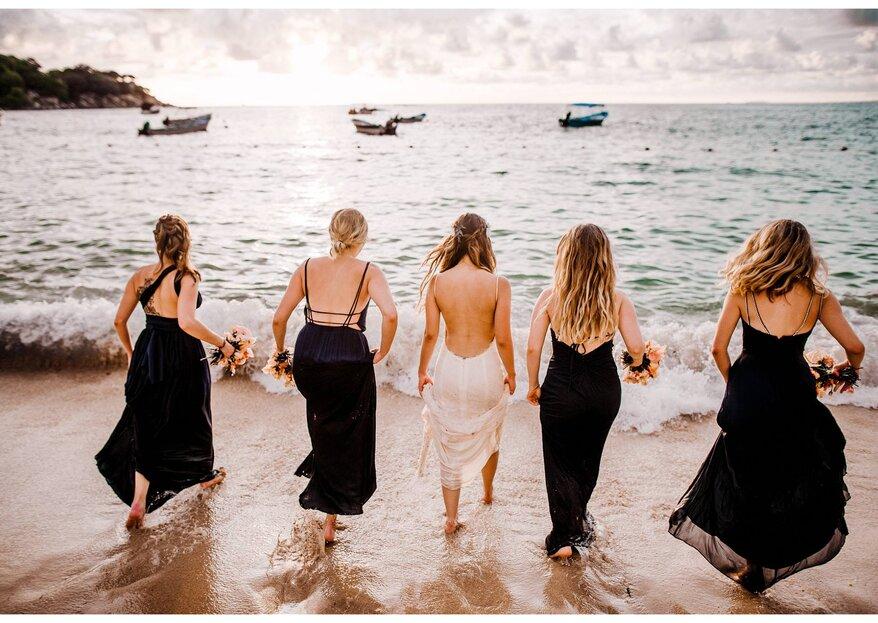 Fotos que no pueden faltar con tus damas de boda