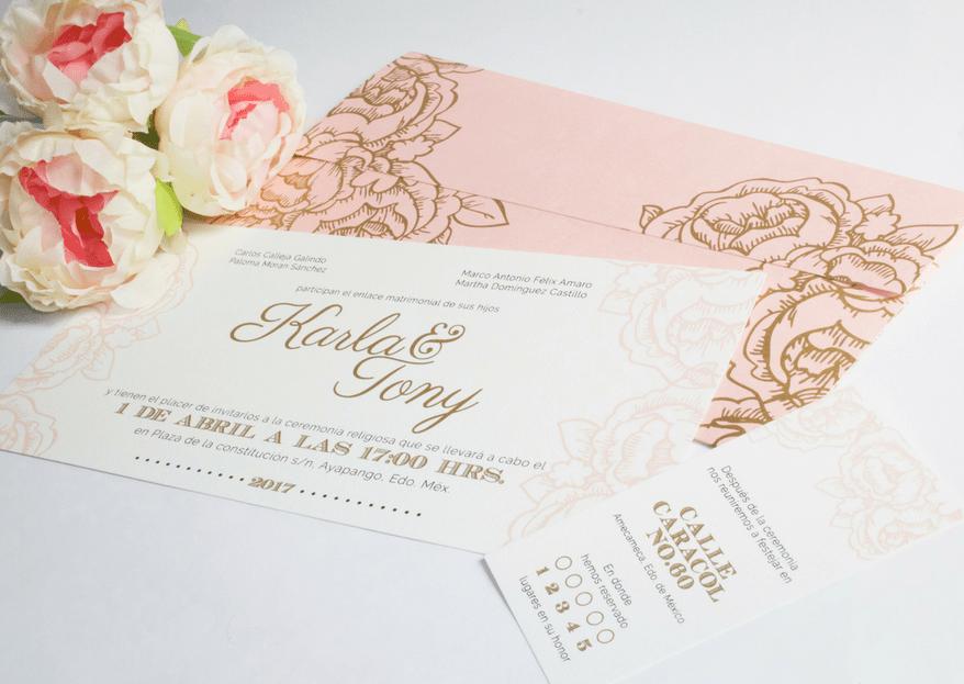 Cómo escribir el texto para invitaciones de boda: 5 tips para redactar tus invitaciones