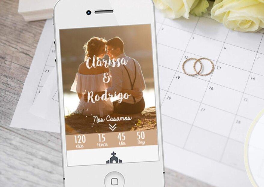 Agenda El Día: invitaciones web para sorprender con el primer detalle de tu boda