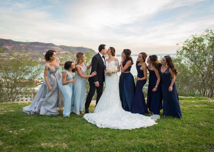 ¿Quieres ser mi dama de honor? 5 increíbles formas de pedirle a tus amigas que sean tus damas