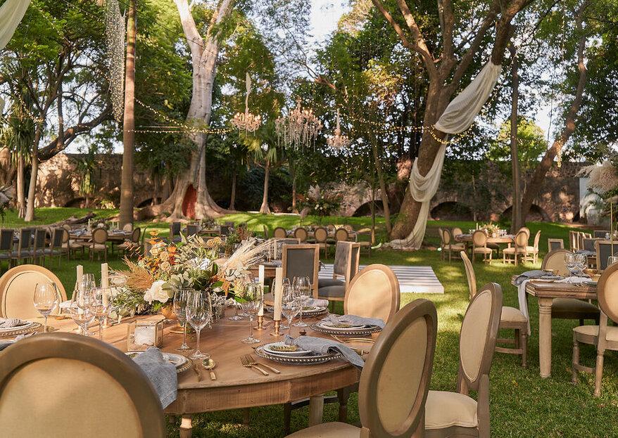 Gran Hacienda las Gracias: exclusividad, elegancia y originalidad para su boda