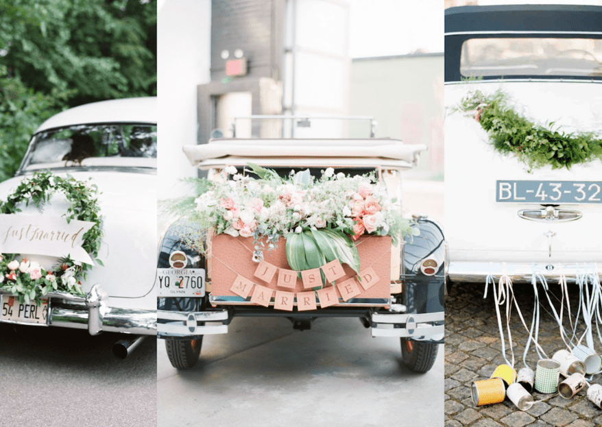 Tipos de transporte para tu boda: ¡Chécalos todos!