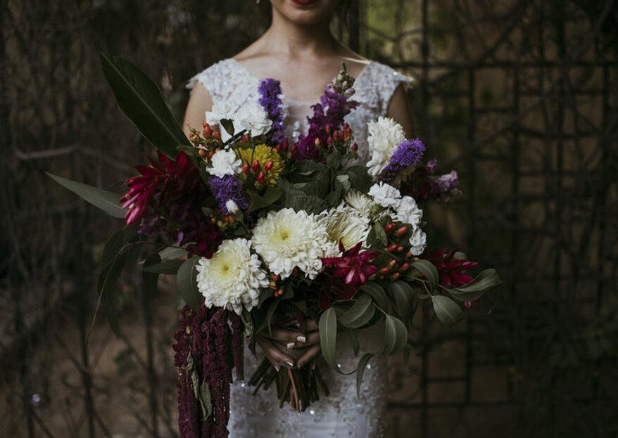 Los mejores ramos de novia para una boda en invierno